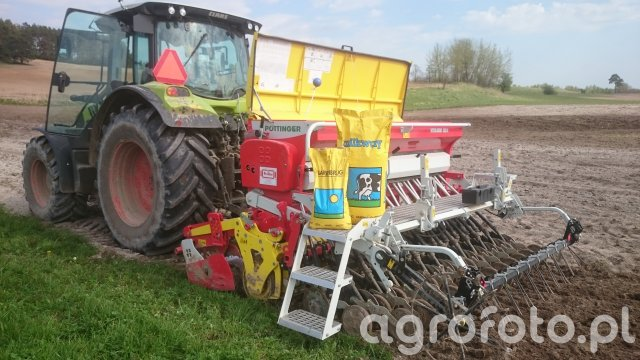 Claas Arion 620 Pottinger fox+vitasem 302 A