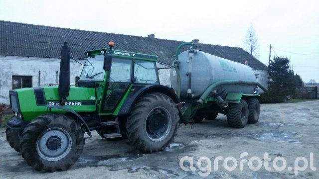 Deutz Fahr DX90 & Marco Polo 12000