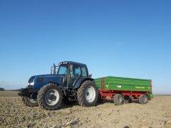 Landini Legend  115 + Pronar PT608