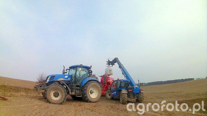 New Holland t7040 & Horsch Pronto 6DC