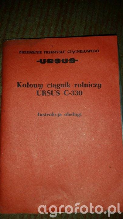 Instrukcja obsługi Ursus C-330