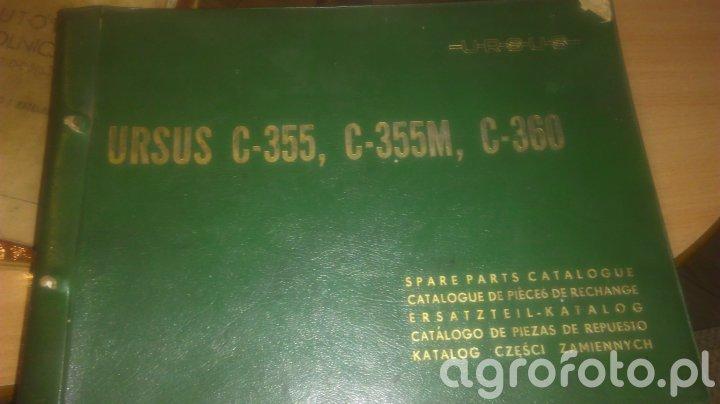 Katalog części zamiennych C-355 C-355M C-360