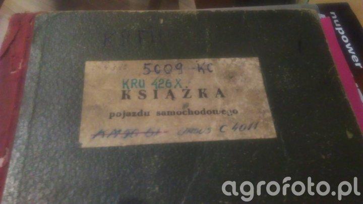 Książka ciągnika w czasach prl-u