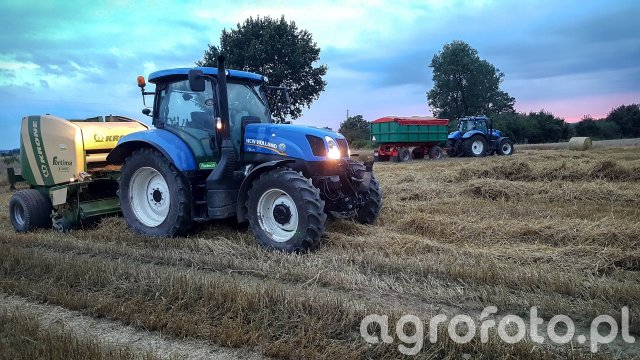 New Holland T7 & T6