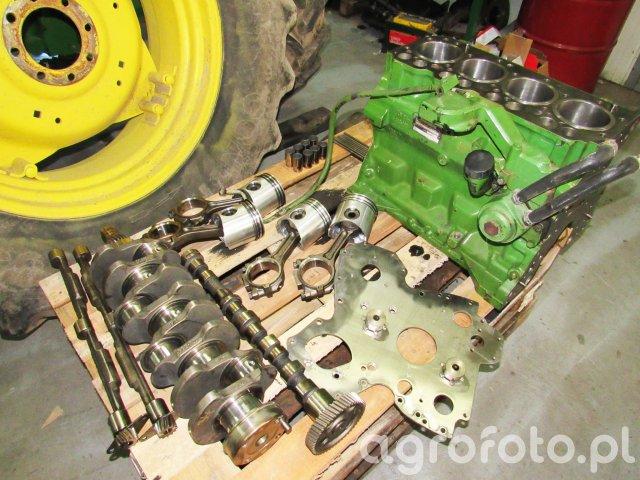 Remont silnika John Deere 6200 w naszym warsztacie