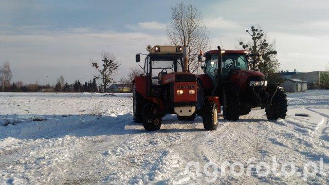 Zetor 12011 & Case Maxxum 140 MC