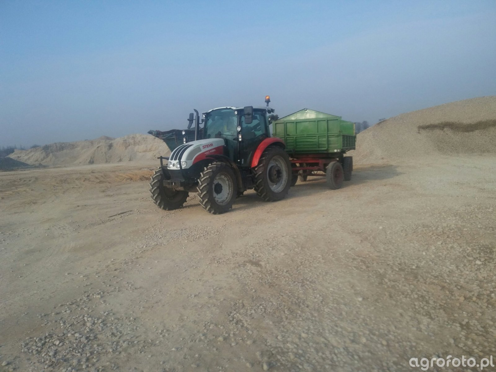 Steyr kompakt 4085 + D 47