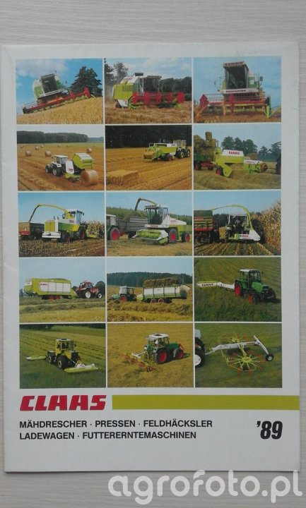 CLAAS Program '89