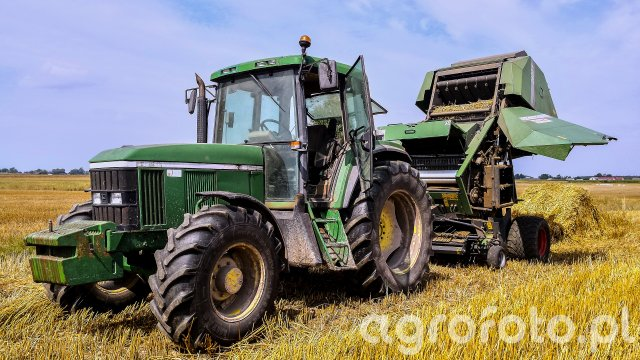John Deere 6506 + Fendt 2600VS