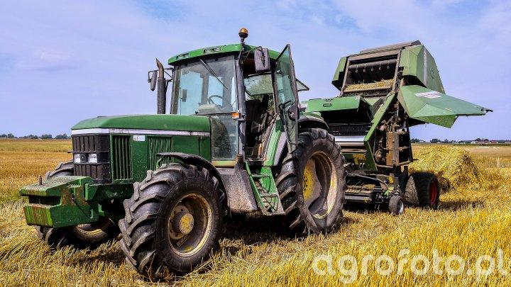 John Deere 6506 + Fendt 2600VS