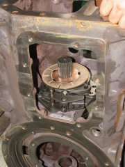 Fotorelacja z remont skrzyni biegów Renault Ares 640