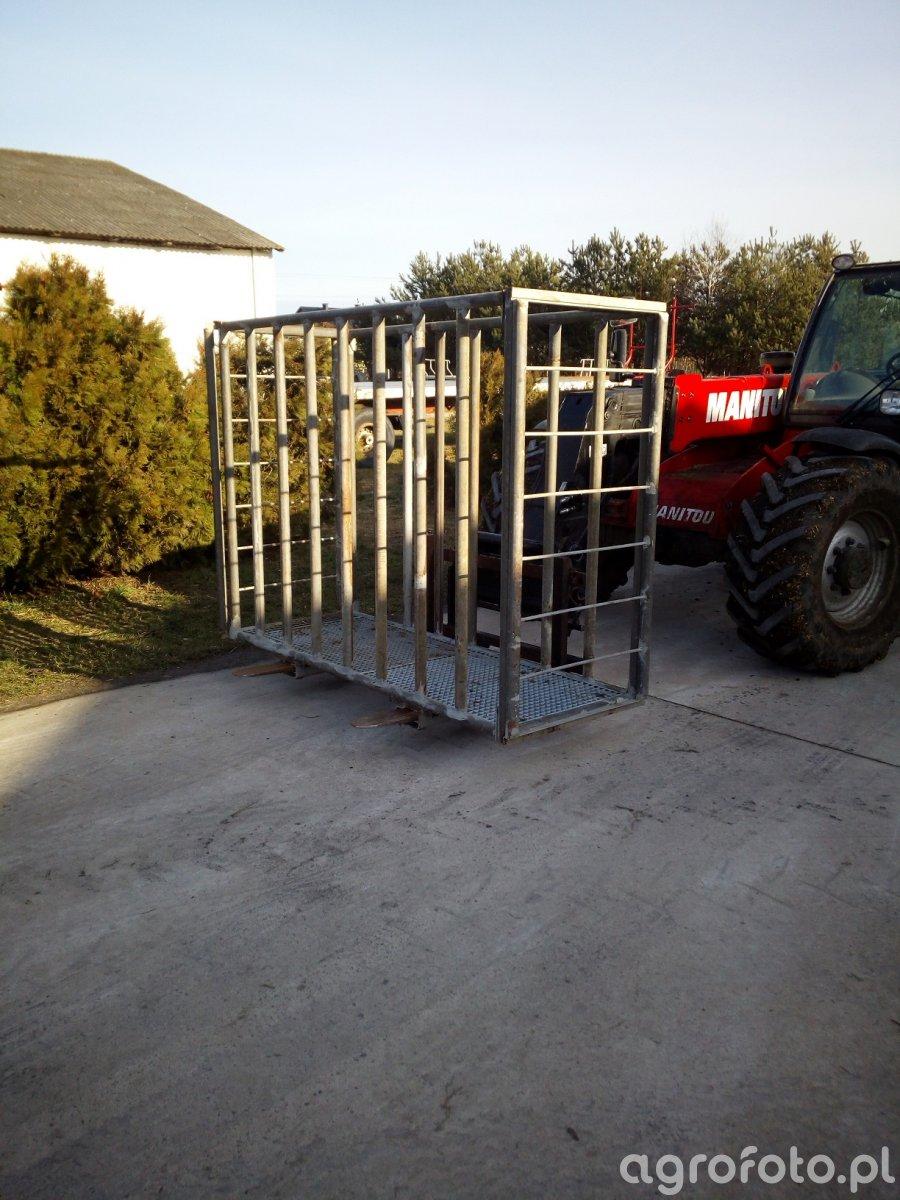 Klatka do przewożenia bydła