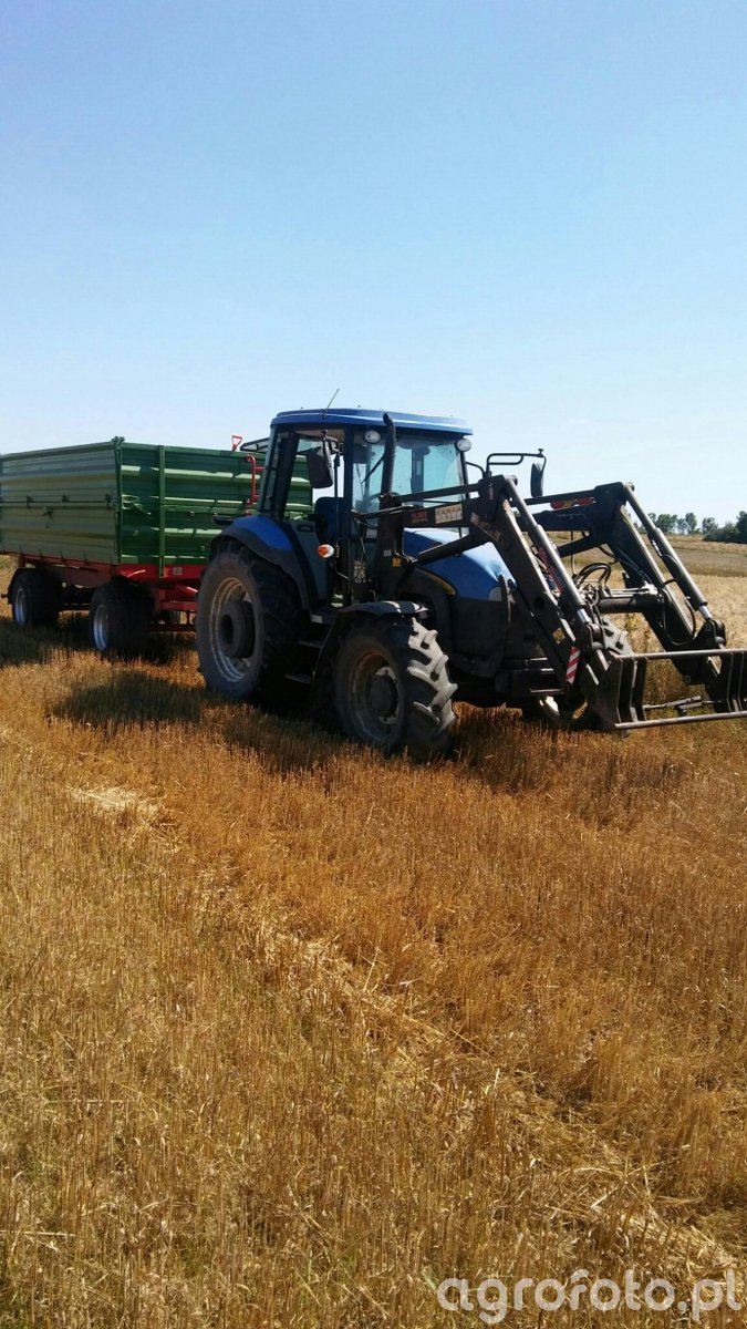 New Holland TD5040 + Pronar.