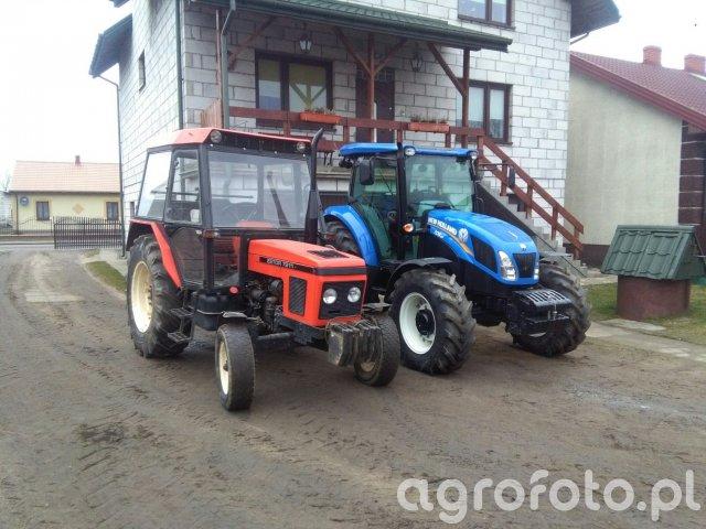 New holland td5.85, zetor 7211