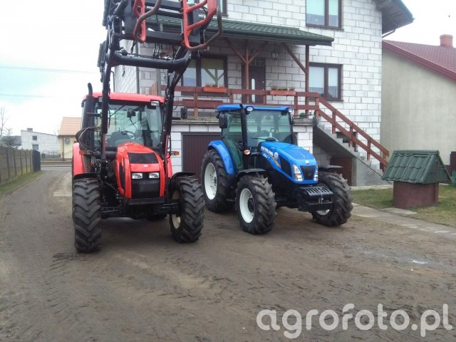 New holland td5.85, Zetor proxima 8441