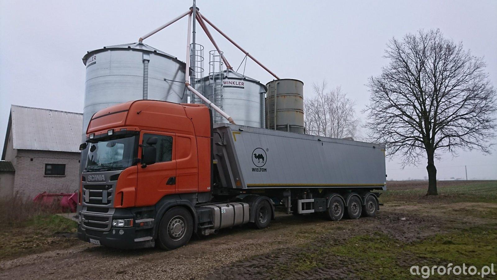 Scania + wielton