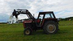 Ursus 912 i ładowacz czołowy Metal Fach