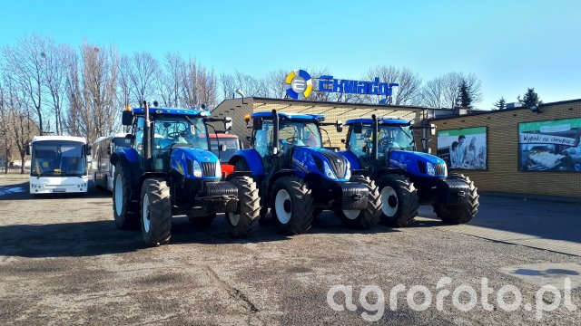 New Holland T6050, T6.125S & T6.165
