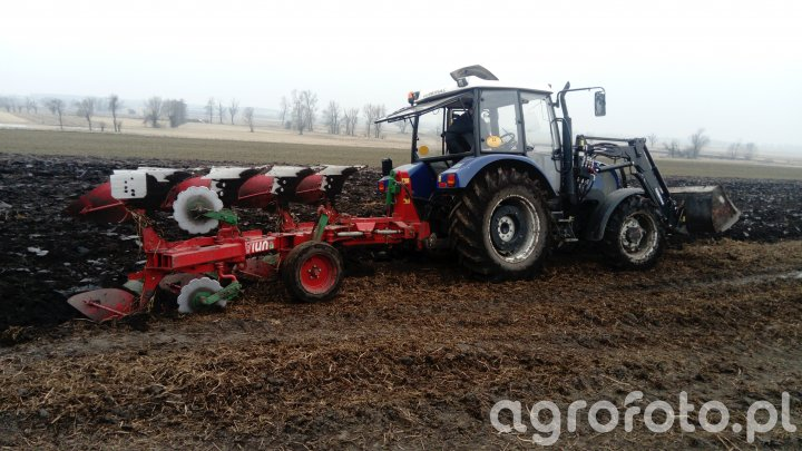 Farmtrac 675dt+ Unia Ibis L