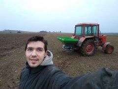 Selfie z MTZ-82 + Langren RS-600