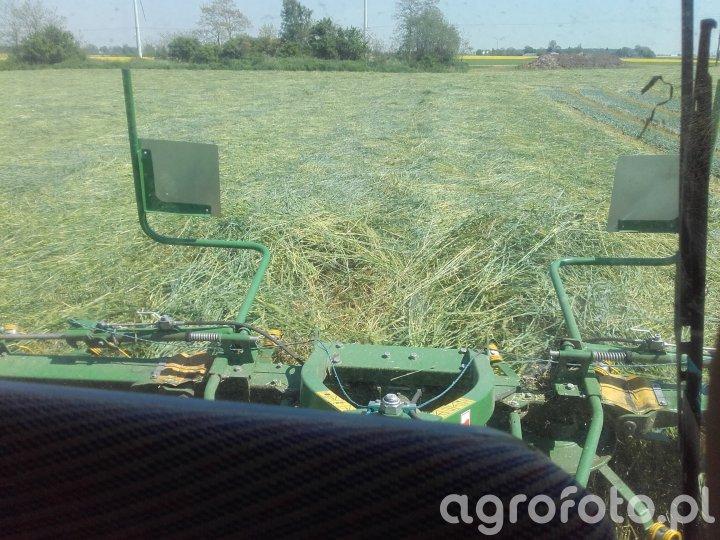 Farmtrac 675king + pronar pw530