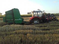 Farmtrac 675king+jd 550