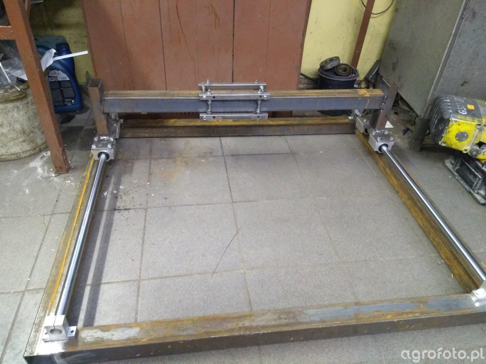 Wszystkie nowe Budowa stołu CNC do plazmy - Obrazek, fotka, zdjecie, photo GJ13