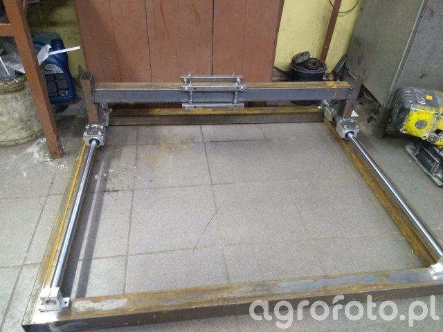 Budowa stołu CNC do plazmy
