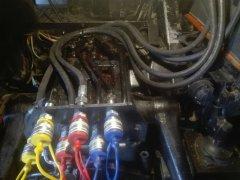 Dodatkowe wyjścia hydrauliki Ursus 912