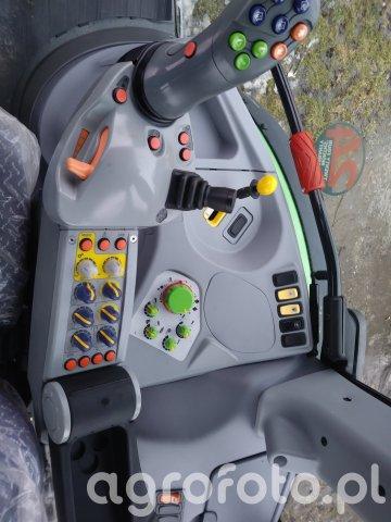 Gdzie są przyciski od wyjść hydraulicznych deutz fahr 420 ttv