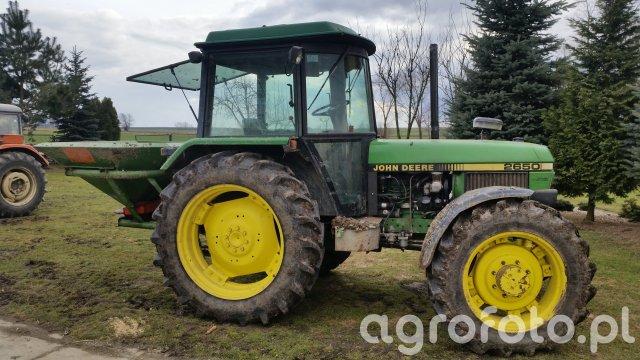 John 2650 & Amazone 603