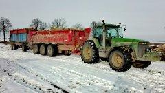 "John Deere 8100 + VAIA nl28 + ""niebieska"""