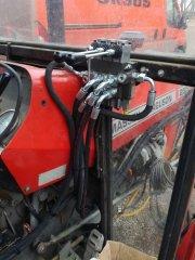 Massey Ferguson 255 - dodatkowa hydraulika z przodu- rozdzielacz WARYŃSKIEGO