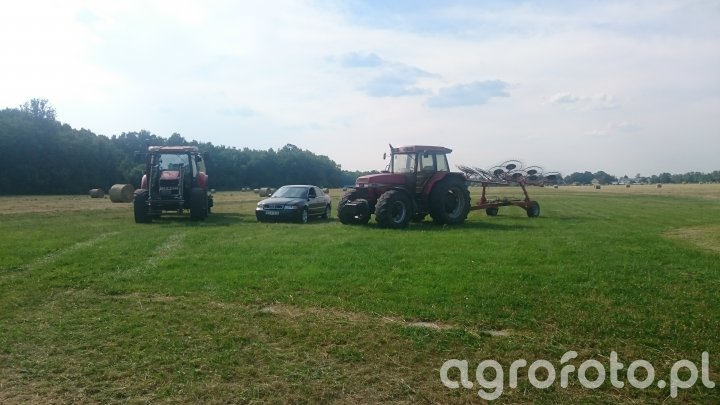 Case maxxum 140 & 5150 + Zgrabiarka & Audi A4