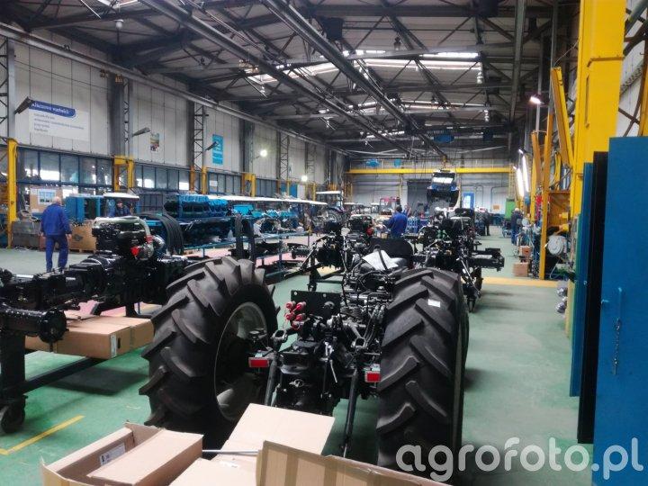 Farmtrac - linia montażowa