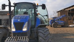 New Holland T5.115 &  LM5.25