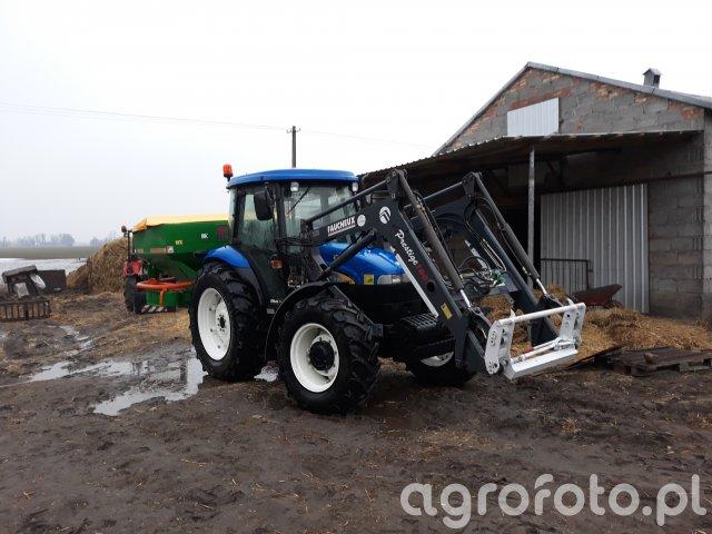 New Holland TD80D i Amazone