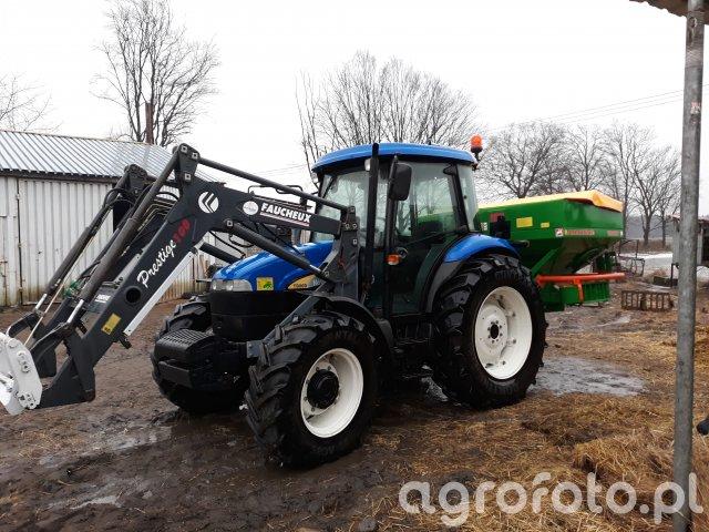 New Holland TD80D i Amazone ZA-MI