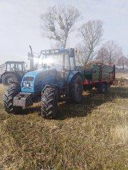 Pronar 1025A+Warfama n-218/P & Belarus 920.2