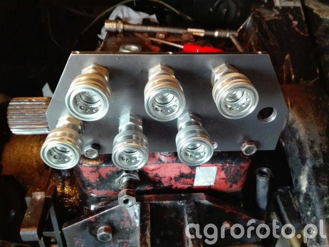 Ursus 912 Płyta z hydrauliką