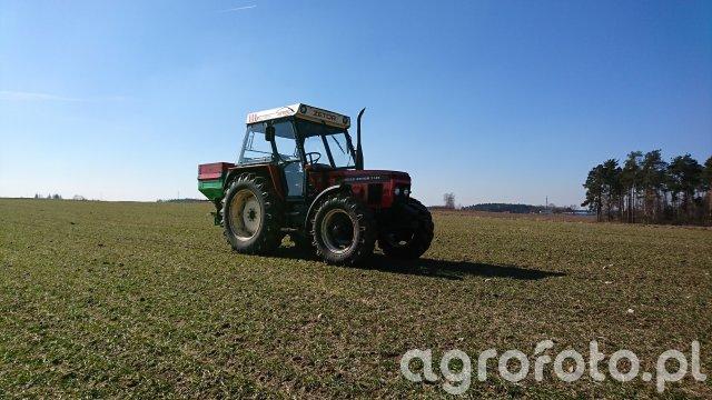 Zetor 7745 + Brzeg MS 500