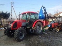 Zetor Proxima Power 120 & Unia Brzeg N039MX Zetor 5211