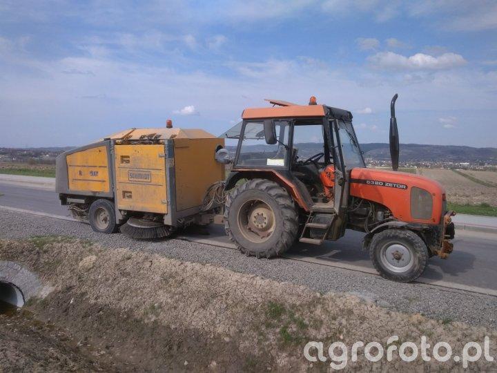 Zetor 5320 & Schmidt