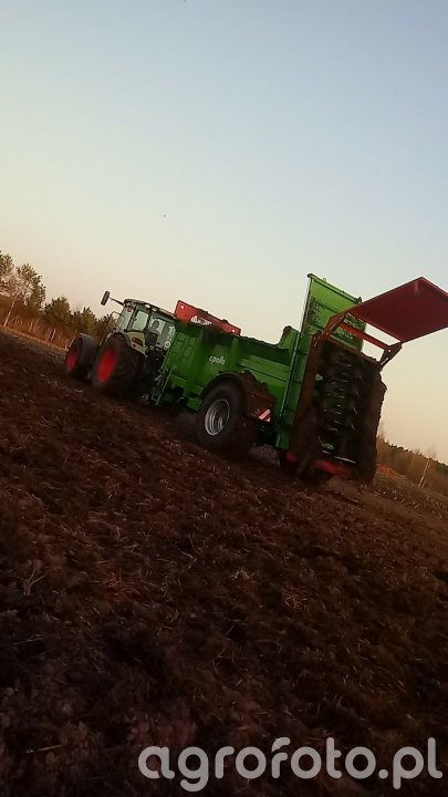 Claas arion 420cis + Unia Apollo11