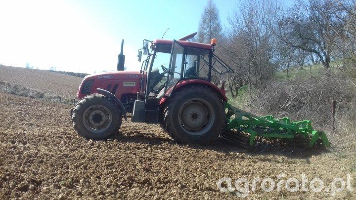 Farmer F-8244 C2 + Dziekan 2,8