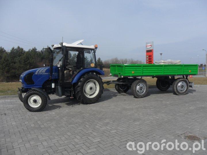 Farmtrac 555 + Autosan D-44