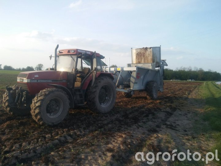 Case 5130 + Fliegl ADS80