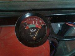 Ciśnienie oleju Ursus C 360