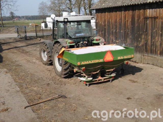 Deutz-Fahr Agrofarm 430 & Amazone ZAM II