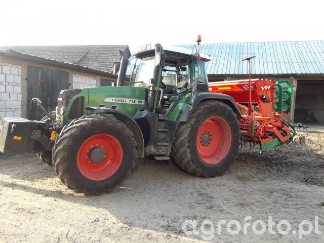 fendt 718 i Agro Masz SN300